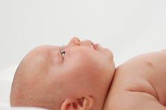 ребенок 7 newborn Стоковые Фото