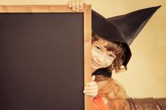 ребенок halloween Стоковая Фотография