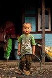 Ребенок Lepcha Стоковые Изображения