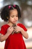 ребенок multiracial Стоковые Изображения RF