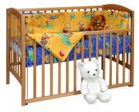 ребенок s кровати стоковая фотография
