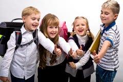 Ребеята школьного возраста Стоковые Фотографии RF