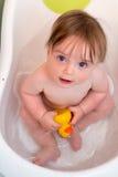 Ребёнок в ванне Стоковые Фото