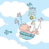 Ребёнок летания Стоковые Изображения RF