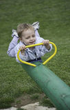 Ребёнок имея потеху Стоковая Фотография RF