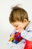 Ребёнок прорезывания зубов Стоковое Фото