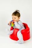Ребёнок прорезывания зубов Стоковые Изображения RF