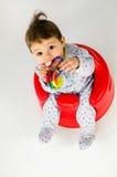 Ребёнок прорезывания зубов Стоковые Фотографии RF
