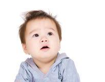 ребёнок смотря вверх стоковое изображение