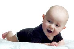 ребёнок счастливый немногая Стоковые Изображения