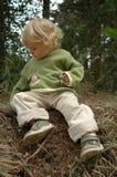 ребёнок счастливый Стоковое Изображение