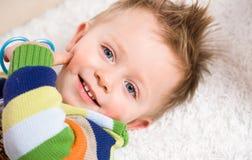 ребёнок счастливый Стоковые Фотографии RF