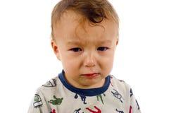 ребёнок унылый стоковое фото rf