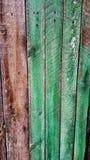 древесина Дверь домашний ярд Стоковая Фотография RF