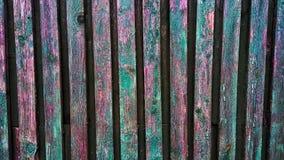 древесина Дверь домашний ярд Стоковые Изображения RF
