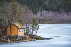 древесина дома малая Стоковые Изображения RF