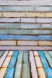 древесина предпосылки цветастая Стоковая Фотография