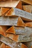 древесина стога Стоковое Изображение