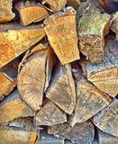 древесина стога Стоковое Фото