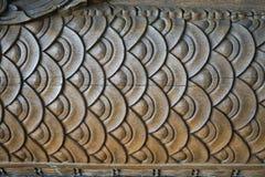 древесина Таиланда рассказа картины жизни carvings стоковое фото rf