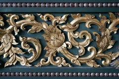 древесина Таиланда рассказа картины жизни carvings Стоковые Изображения