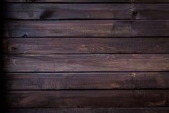 древесина текстуры предпосылки темная Стоковое Изображение