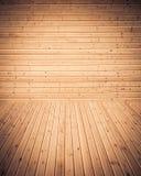 древесина текстуры теней предпосылки коричневая Стоковая Фотография