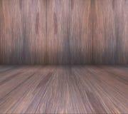 древесина текстуры теней предпосылки коричневая Стоковая Фотография RF
