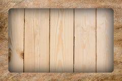 древесина текстуры teakwook предпосылки прокатанная полом Стоковое Фото
