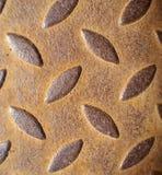 древесина grunge предпосылки металлическая ржавая Стоковое фото RF
