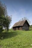 древесины кабины старые Стоковые Изображения