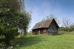 древесины кабины старые Стоковое Изображение