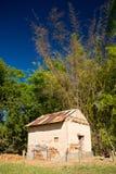 древесины кабины старые Стоковая Фотография RF