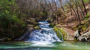 Реветь, который побежали водопад (более низкие падения), Вирджиния, США стоковые изображения rf