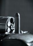 револьвер пули Стоковая Фотография
