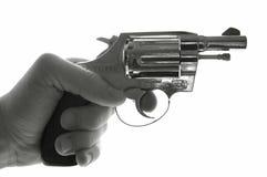 револьвер удерживания Стоковые Изображения RF