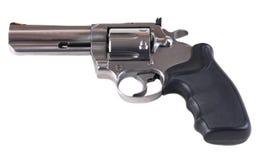 револьвер 357 больших винных бутылок Стоковые Изображения
