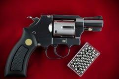 Револьвер оружия BB Стоковые Фото