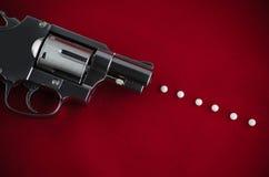 Револьвер оружия BB Стоковые Изображения