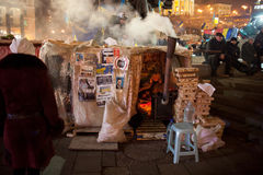 Революция в Украине Стоковая Фотография RF