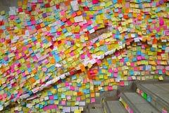 Революция зонтика в заливе мощёной дорожки Стоковая Фотография RF