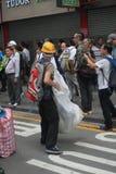 Революция зонтика Mong Kok в Гонконге Стоковое Фото