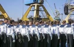 Регата 2016 кораблей Чёрного моря высокорослая, Constanta, Румыния Стоковые Фотографии RF