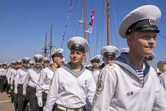 Регата 2016 кораблей Чёрного моря высокорослая, Constanta, Румыния Стоковые Фото