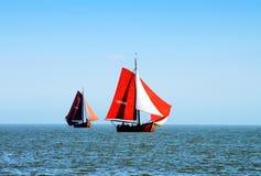 Регата для традиционных парусных суден стоковое изображение rf