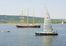 Регата Sailint Стоковое Изображение RF
