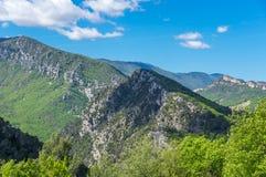 Региональный природный парк лазурного PreAlps Стоковое Фото