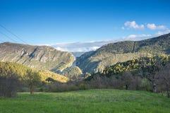 Региональный природный парк лазурного PreAlps Стоковые Фотографии RF