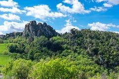 Региональный природный парк лазурного PreAlps Стоковое фото RF