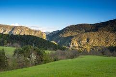 Региональный природный парк лазурного PreAlps Стоковая Фотография